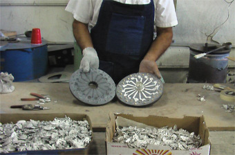 White Metal Casting Our Process At American Metal Arts