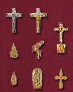 Display your Christian and Catholic faith and devotion with these divine, hand sculpted religious jewelry